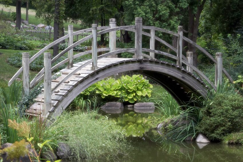 49 Backyard Garden Bridge Ideas And Designs Includes Wooden Garden
