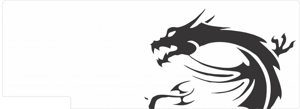 msi dragon backplates