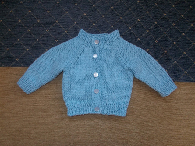 Plain and Simple Baby Cardigan | Baby cardigan knitting ...
