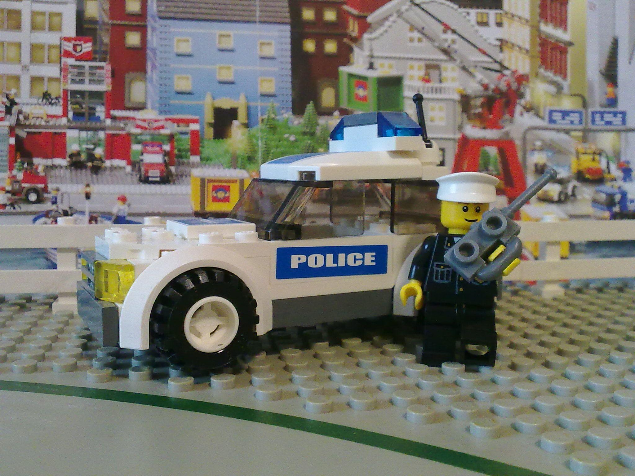 Lego 7236 1 Police Car 2005 Toy Car Police Cars Monster Trucks