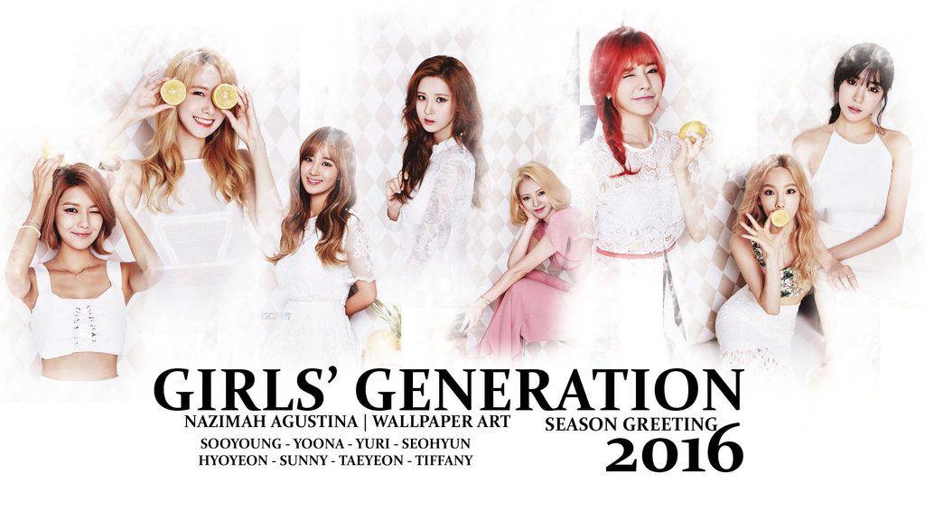 Girls Generation 2016 Season Greeting Wallpaper By Nazimahagustina Deviantart Com On Deviantart Girls Generation Seasons Greetings Girl