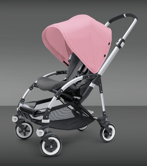 Bugaboo Bee stroller love the pink... Baby strollers