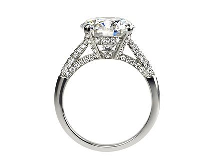 lucie campbell bond street specialize in triple excellent gia certified diamond engagement rings and platinum engagement rings - Platinum Diamond Wedding Rings