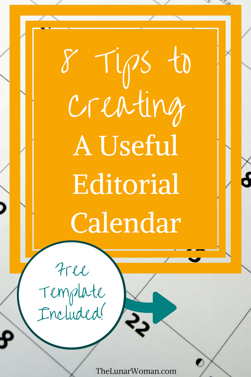How To Create An Editorial Calendar Free Template Included Best