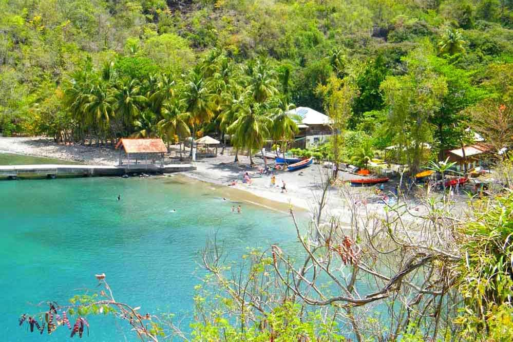 Anse-Noire - Martinique - French Caribbean Island