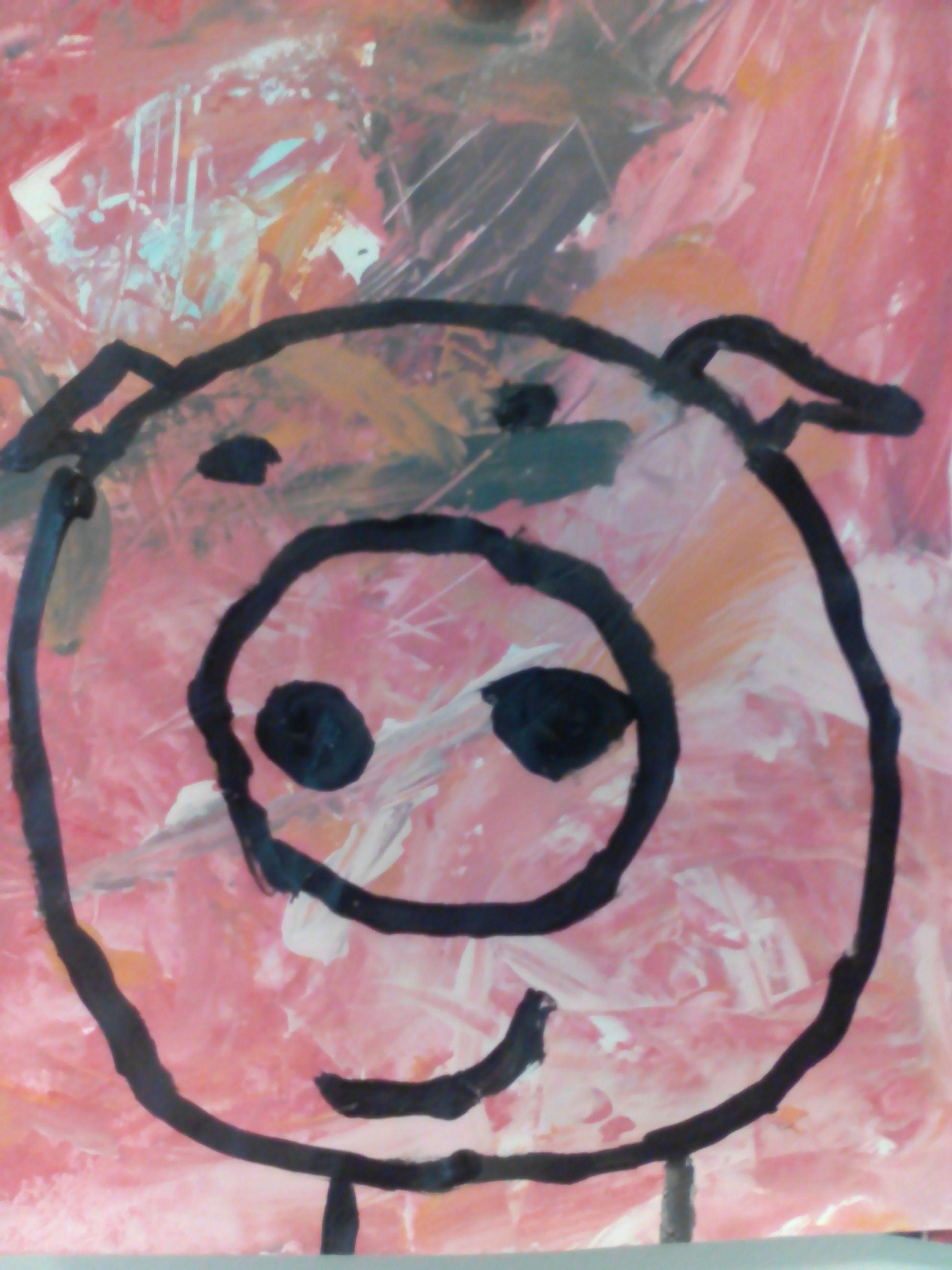Les Trois Petit Cochons Art Visuel : trois, petit, cochons, visuel, Trois, Petits, Cochons, Peinture, L'eau, Biggetjes,, Thema