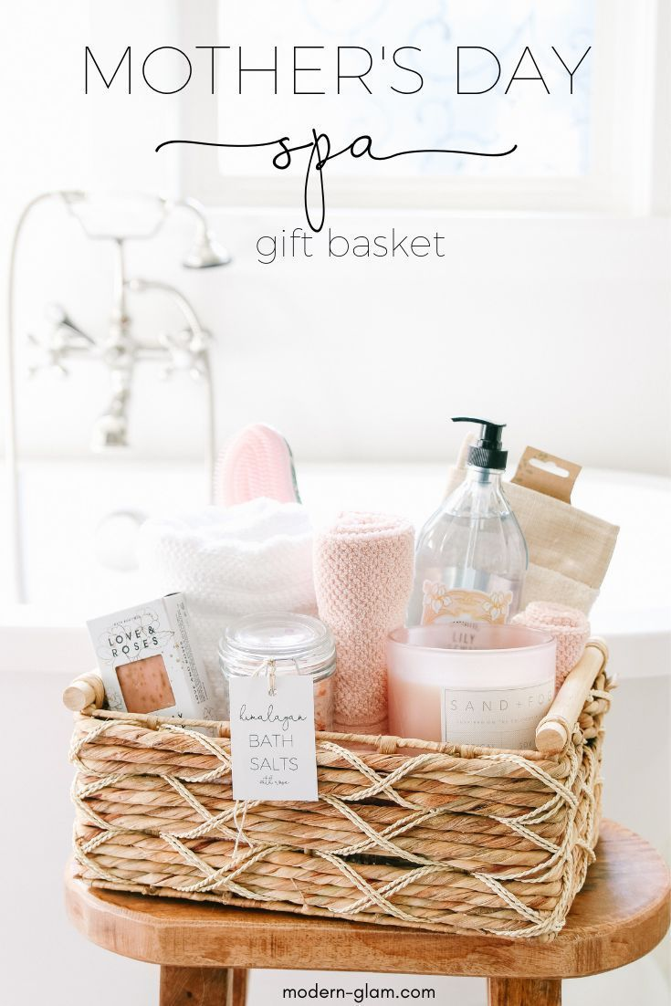 Diy mother   day  basket spa at home see how easy it is also idea ideas rh pinterest