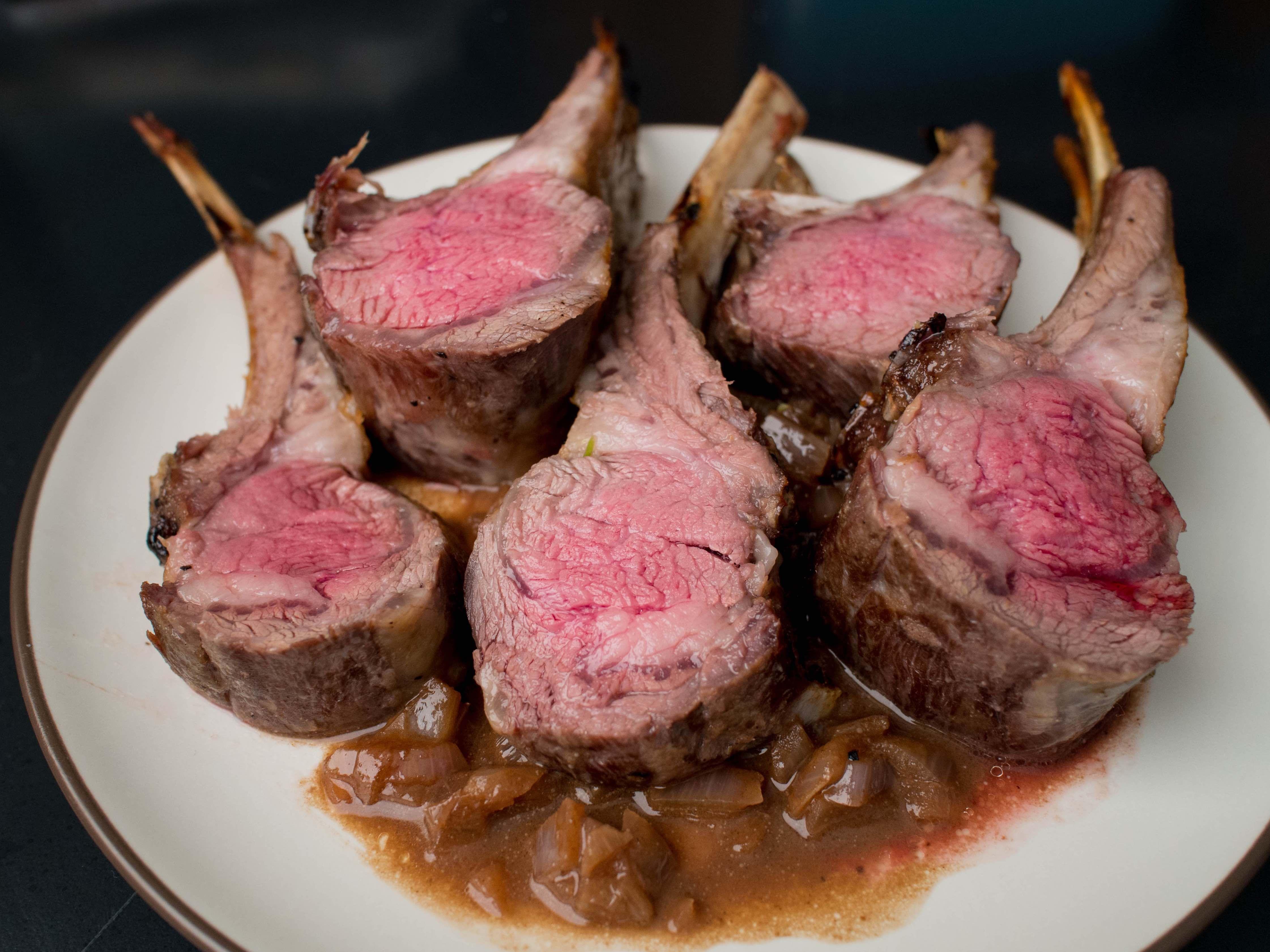 Sous Vide Rack Of Lamb Recipe Sous Vide Cooking Sous Vide