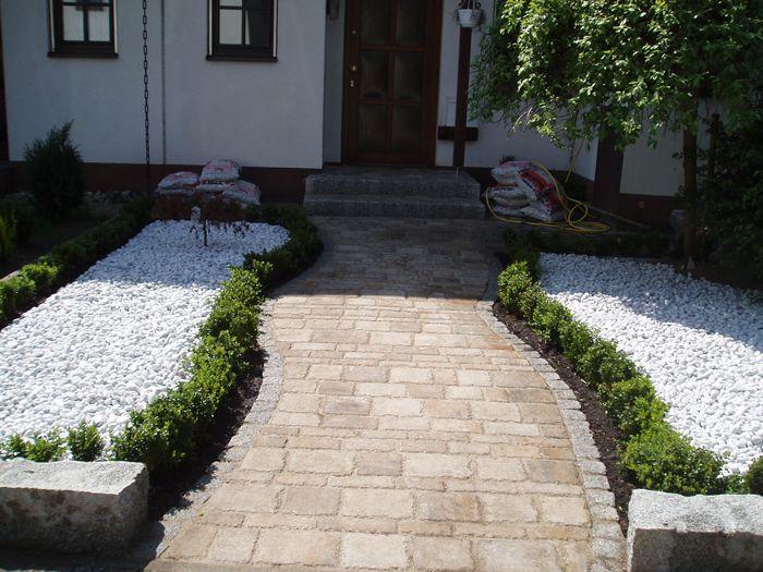 kiesgarten dreifarbig   gartengestaltung   pinterest   gardens, Gartenarbeit ideen