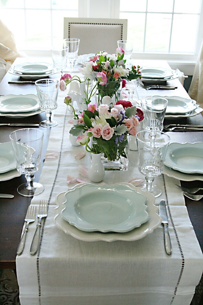 Spring Tablescapes | For the Home | Pinterest | Tablescapes, Spring ...
