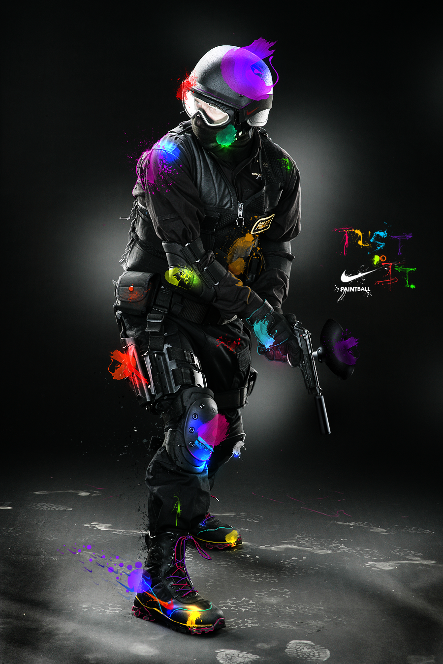 Nike Paintball Great Game 3 Pinterest