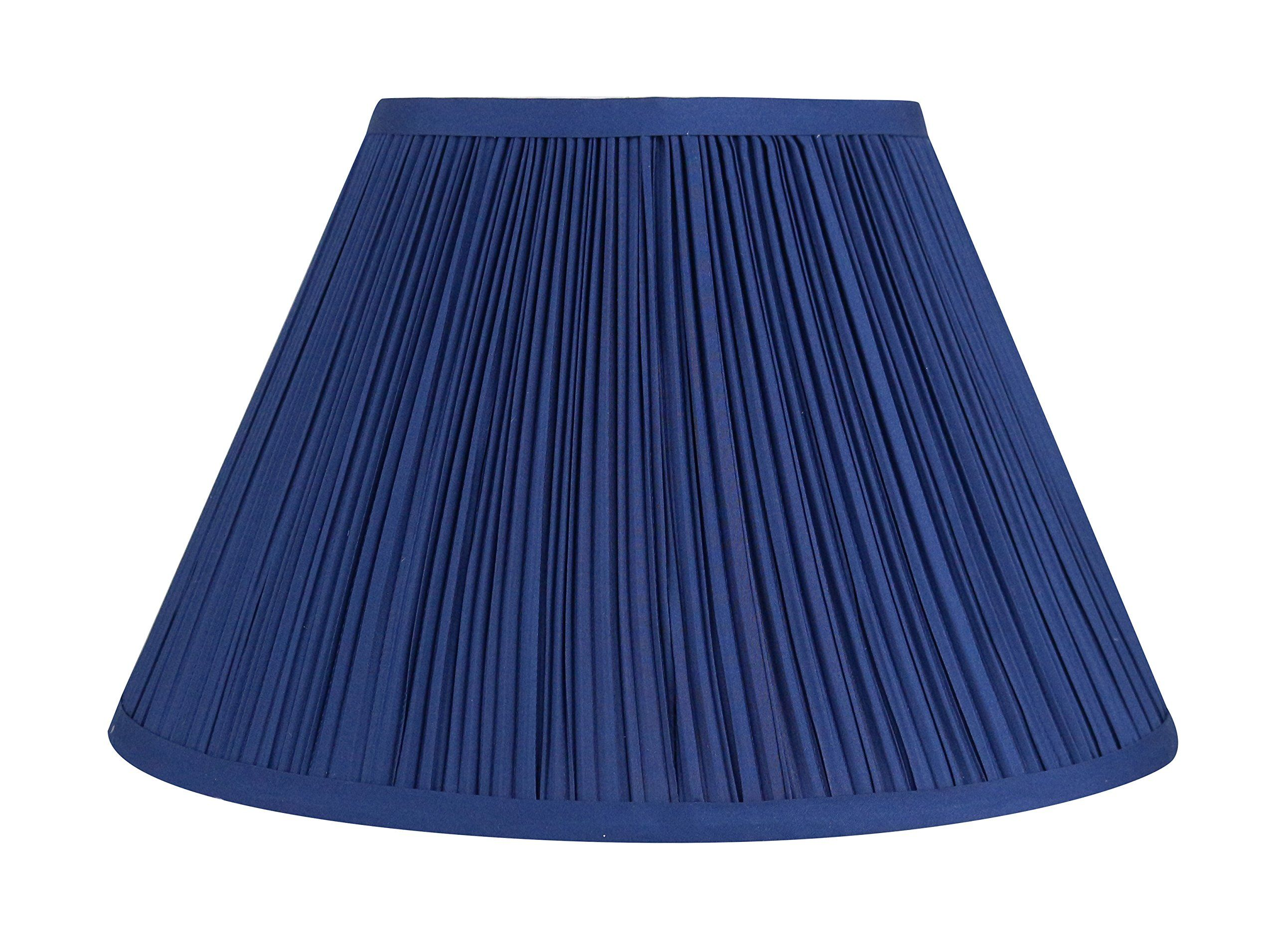 Urbanest Mushroom Pleated Softback Lamp Shade Faux Silk 6inch By 12inch By 8inch Navy Blue Spider Washer Fitter You Can Get More Det Lamp Shade Lamp Shades