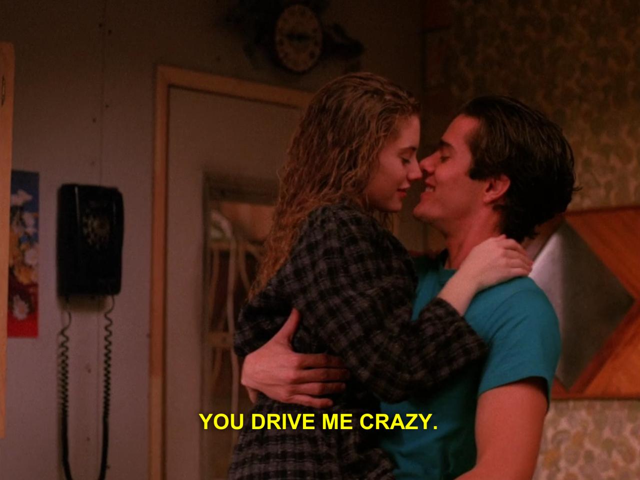 Tumblr Lovers You Drive Me Crazy Twin Peaks 1990 Twin Peaks