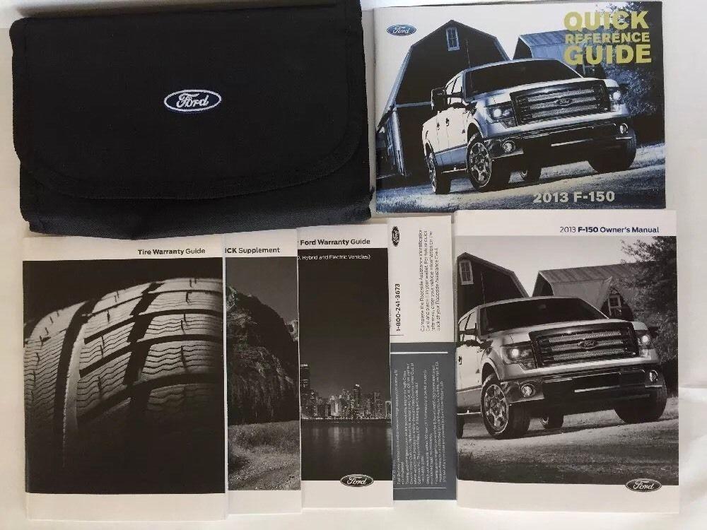 Ford F150 Truck Owner Manual 2013 Glove Box Original W Case Warranty Guide F 150 Ford F150 F150 Truck