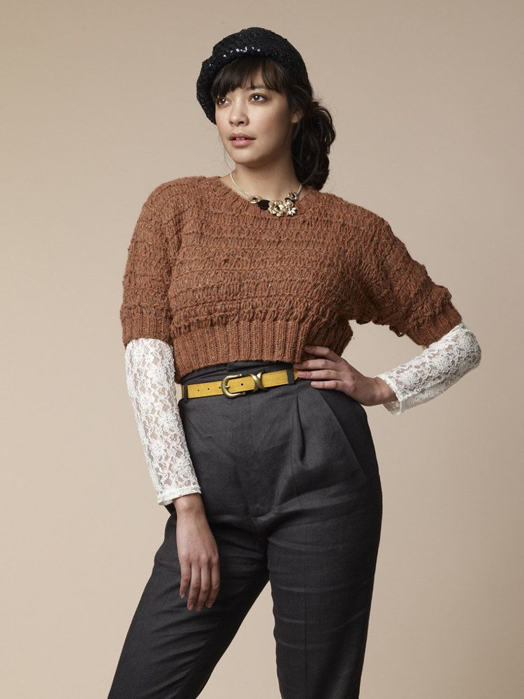 Pine Sweater in Rowan Felted Tweed Aran. Discover more Patterns by ...