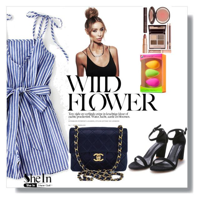 """""""Bez naslova #77"""" by majadost ❤ liked on Polyvore featuring beautyblender, Chanel and Charlotte Tilbury"""