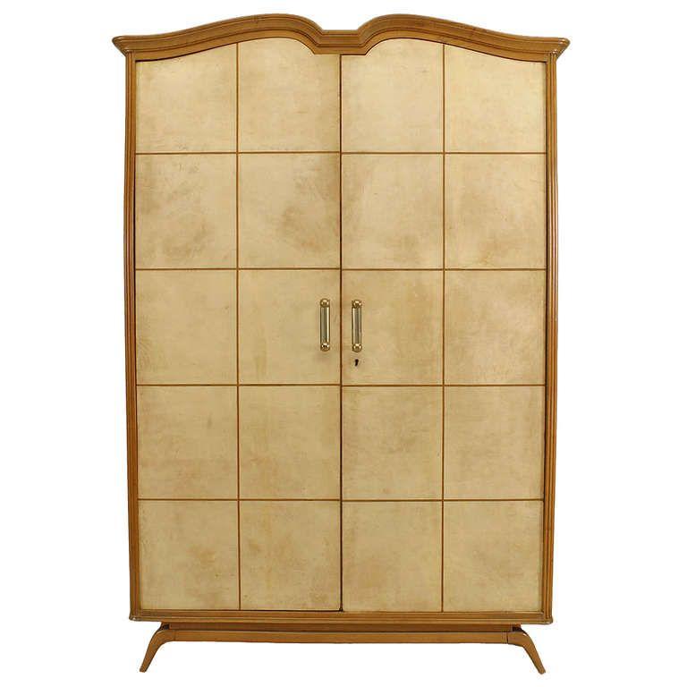 1940s Italian Sycamore Armoire | 1stdibs.com. Modern WardrobeArmoiresBedroom  ...