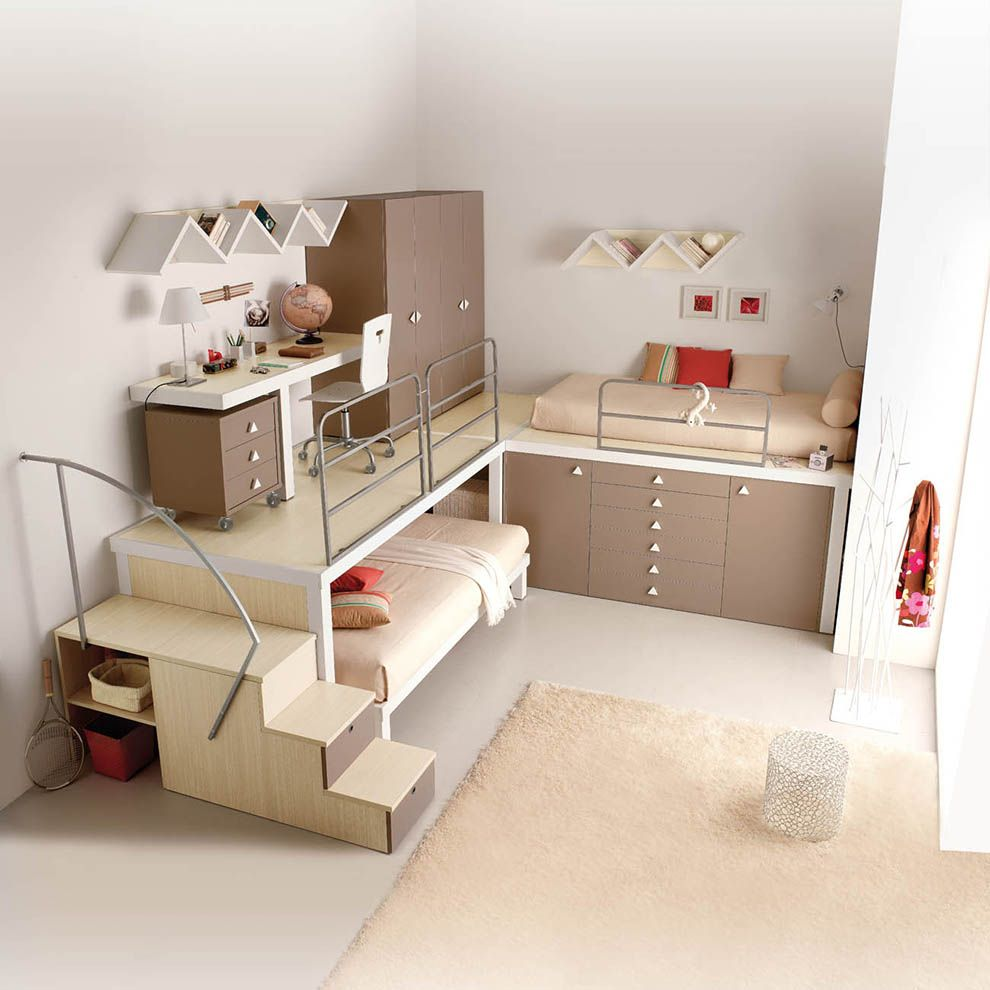 Loft bed with desk ideas Tumidei Spa fancy pants But not quite yet  I can dream