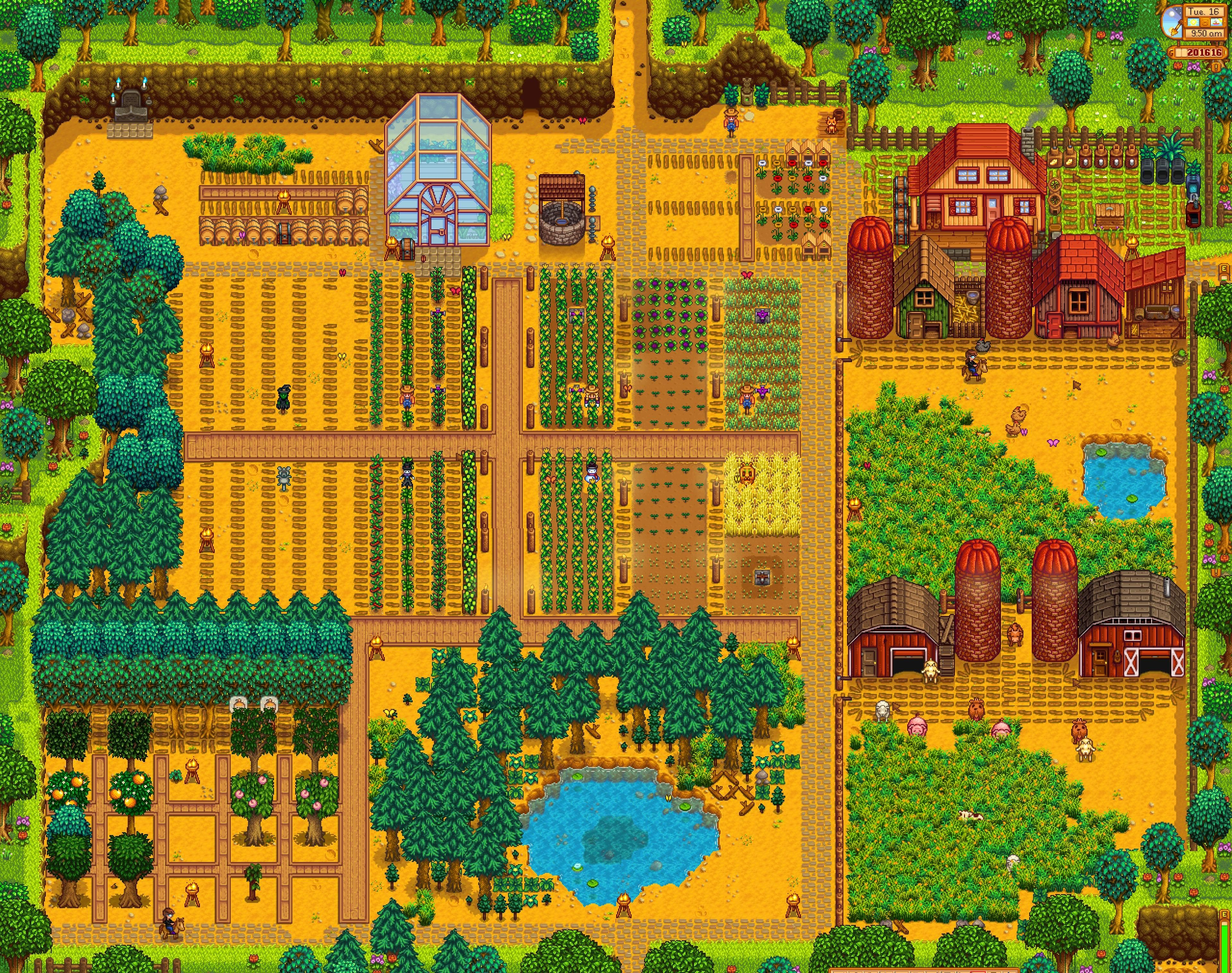 After 3 years - Stardew Valley Farm | stardew | Stardew