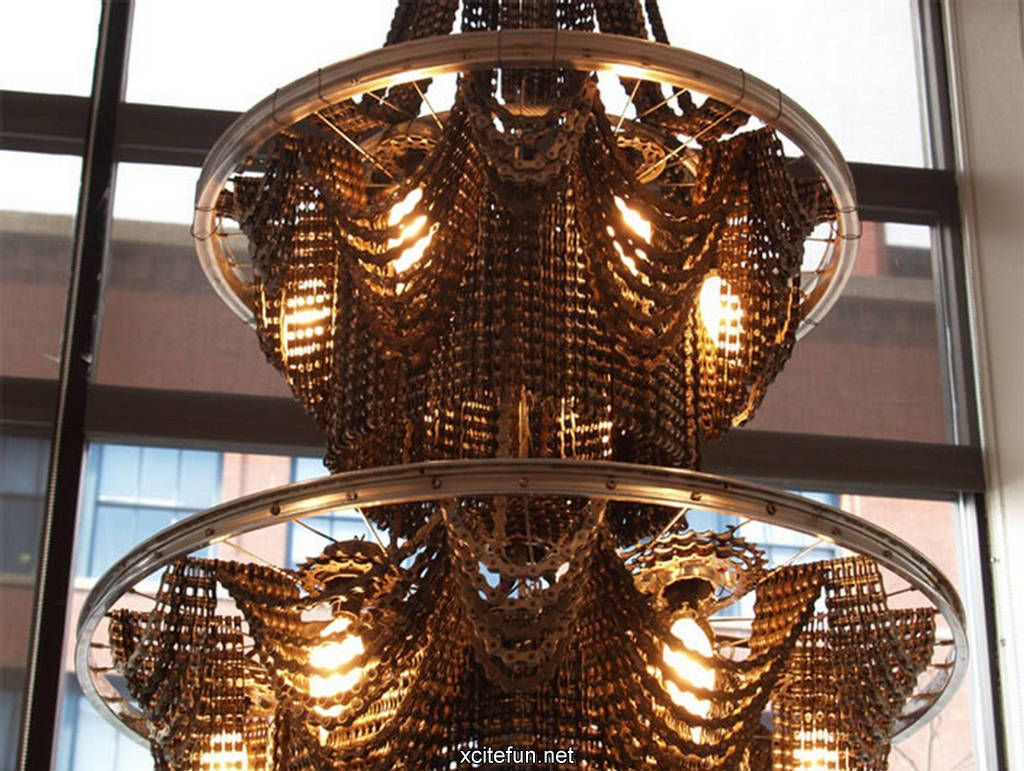 Image detail for -Beautiful Victorian Chandeliers Made from Bike ...