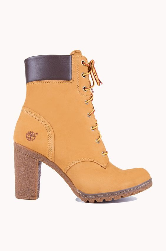 c642749f2a1a Timberland Heel Boots, Timberland Boots For Women, Heeled Boots, Timberland  6 Inch,