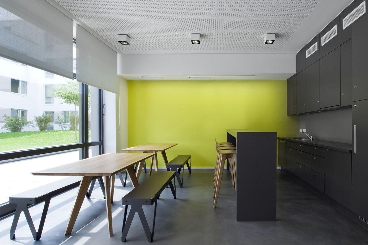 Gemeinschaftskuche Innenarchitektur Wohnen Wohnungsbau