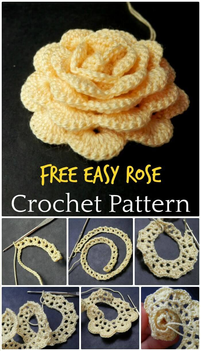 Crochet Flowers – 90+ FREE Crochet Flower Patterns #craft