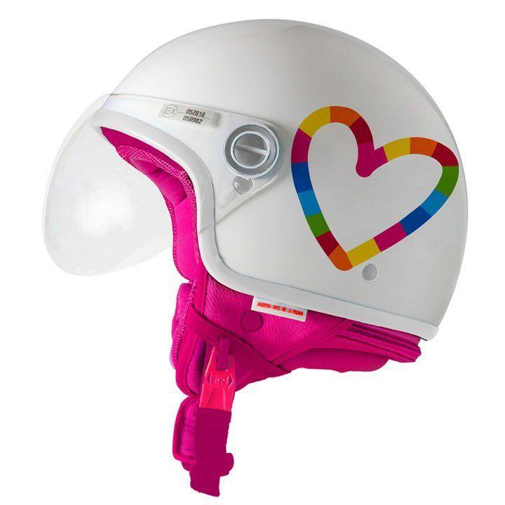 Casco Agatha Ruiz De La Prada Helmet Vespa Bike