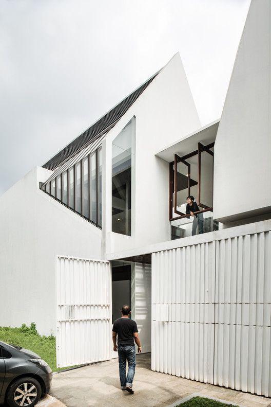 Spouse House Parametr Architecture Apartment Architecture Architecture Architecture House Small house design archdaily