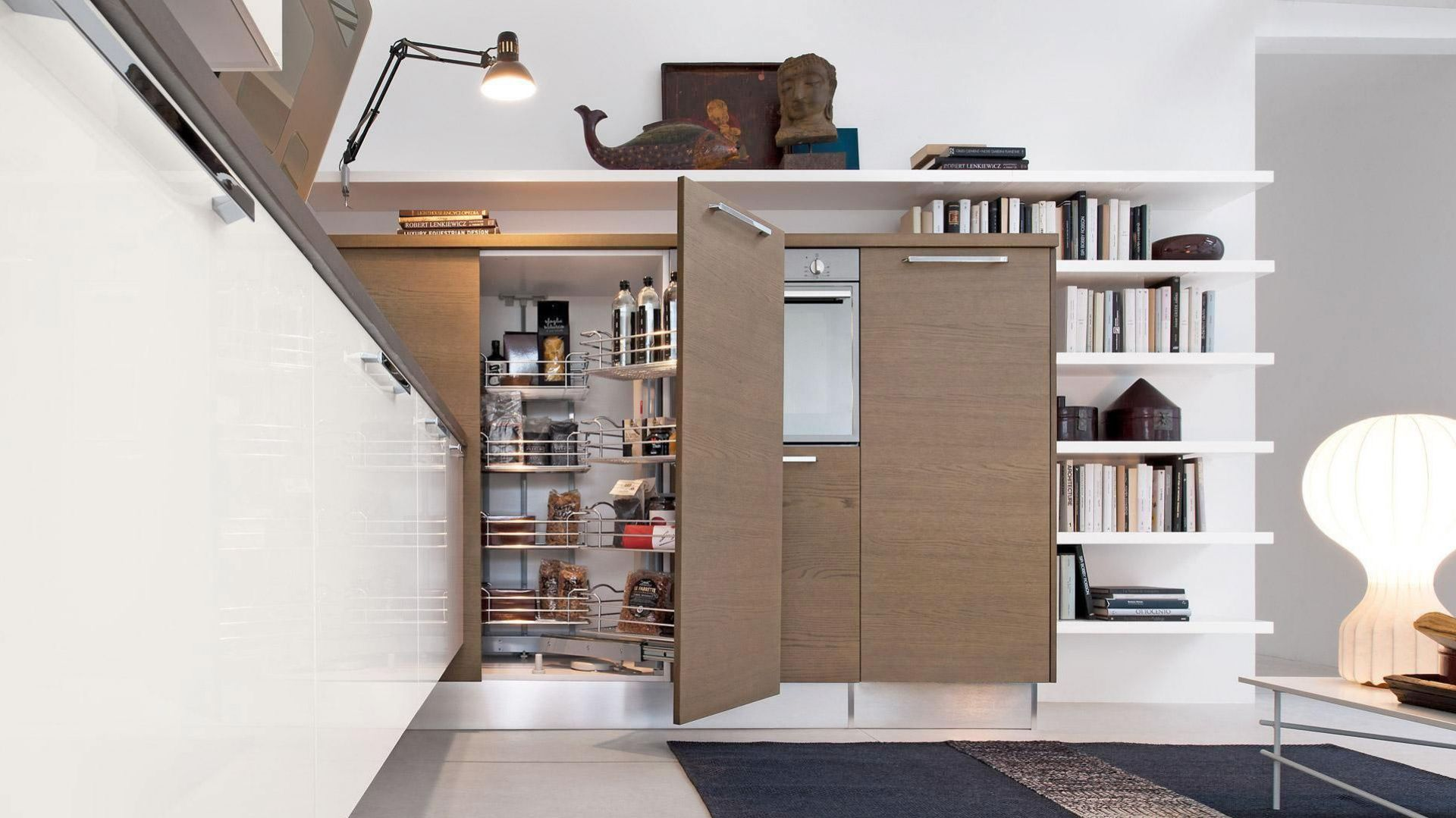 System do szafek narożnych z kolekcji mebli Pamela firmy Lube Cucine ...