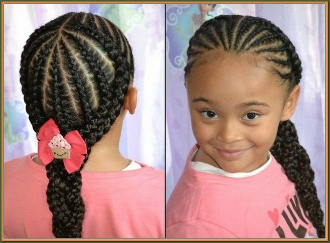 Braided Hairstyles Entrancing Quick Braid Hairstyles For Kids Quick Braiding Hairstyles For Kids