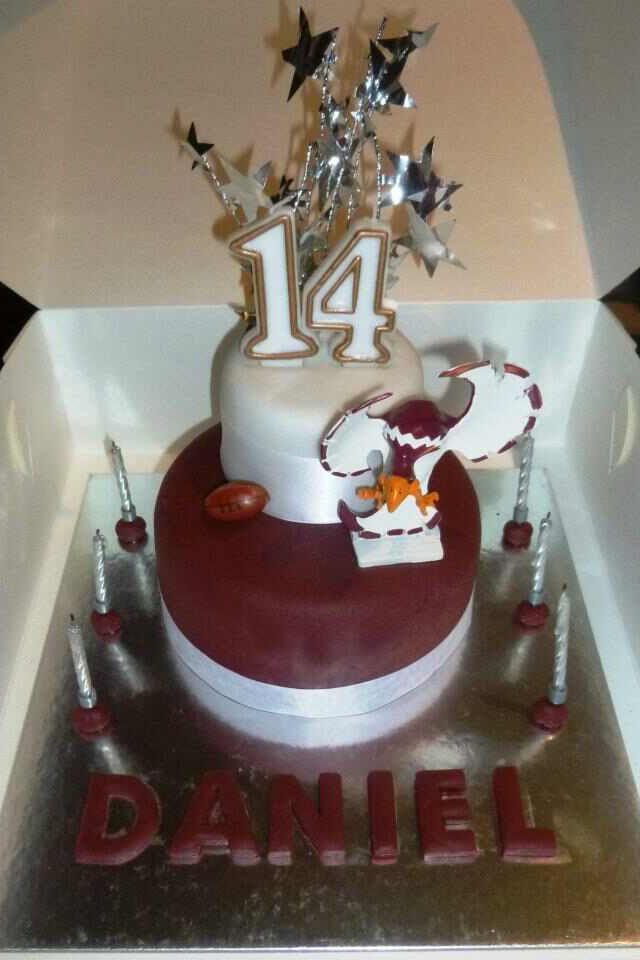 Manly sea eagles cake we created Birthday Cakes Pinterest Cake