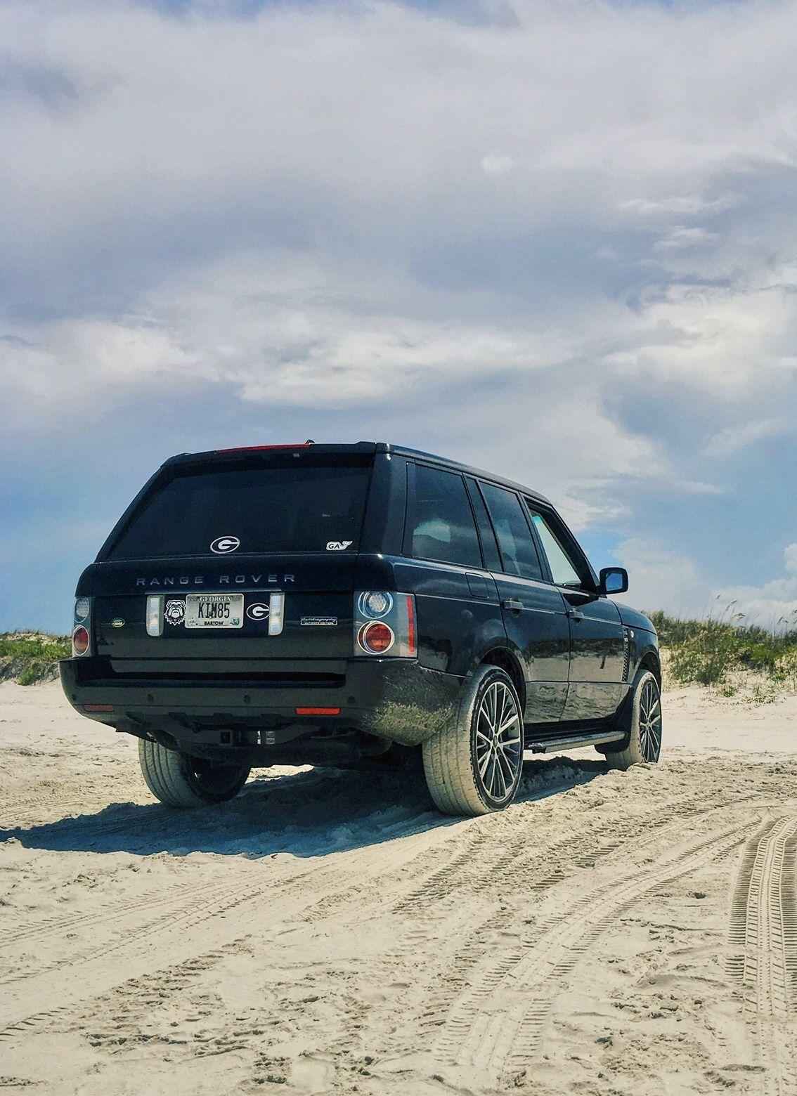 2007 L322 Range Rover Hse 22 Wheels Beach Wallpaper Range Rover Supercharged Range Rover Range Rover Hse