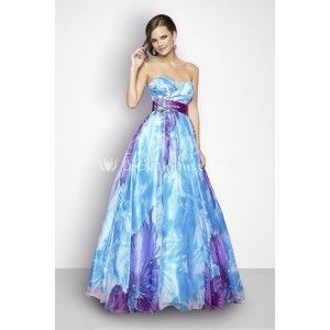 Wedding Dress My Blue And Purple Choices