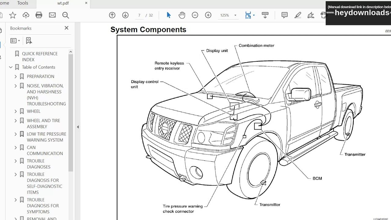Free Pdf Downloads Nissan 20042016 Titan Service Manual