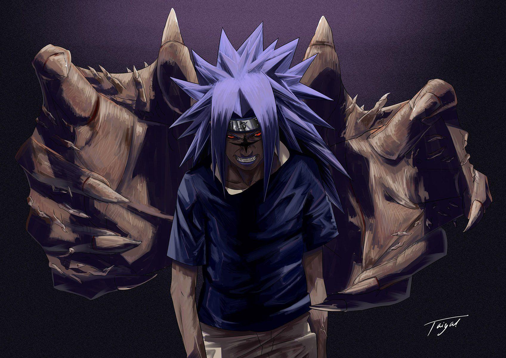 Curse Mark Sasuke Drawing