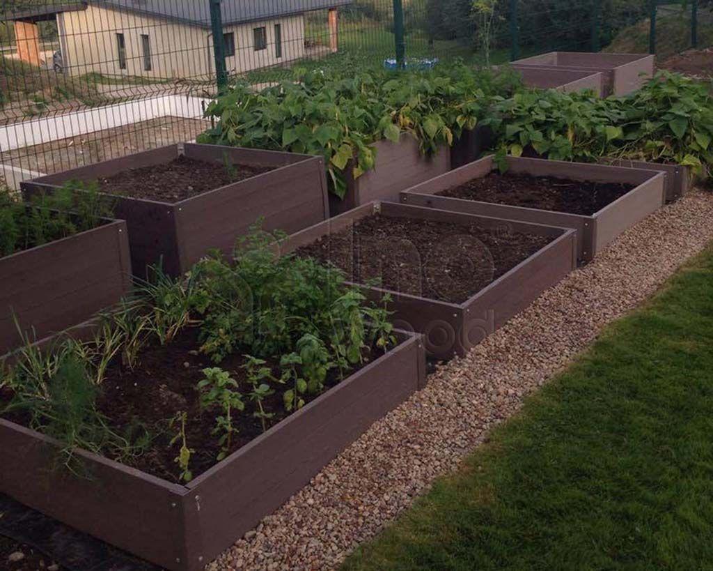Perfect Garden Flourishing Vegetables Happy Gardener Wpc Boards For Raised Beds Perfect Garden Garden Vegetable Garden