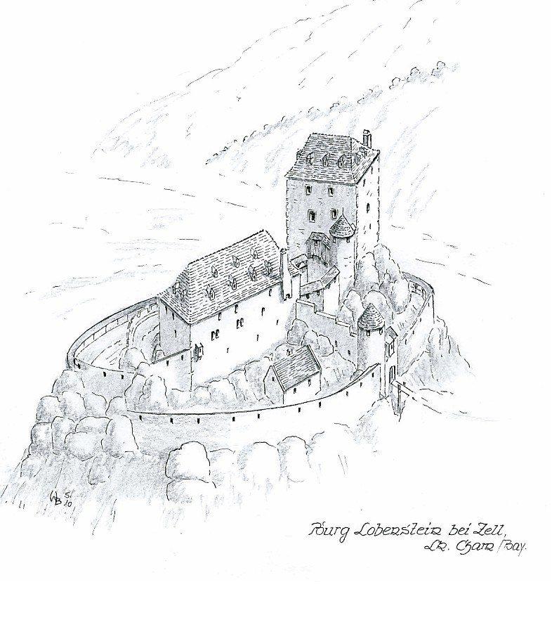 Castle Loberstein near Zell/Bavaria www.burgrekonstruktion