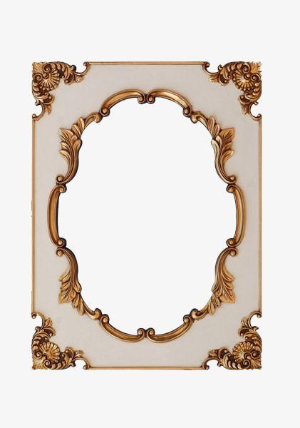 Vintage French decorative frame, French Photo Frame, Frames, Frame - word design frames