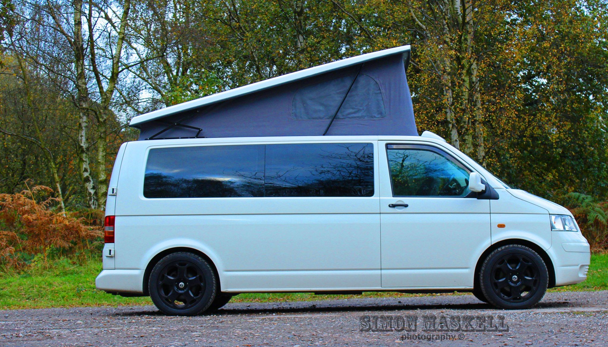 vw transporter t5 lwb conversion camper now completed. Black Bedroom Furniture Sets. Home Design Ideas