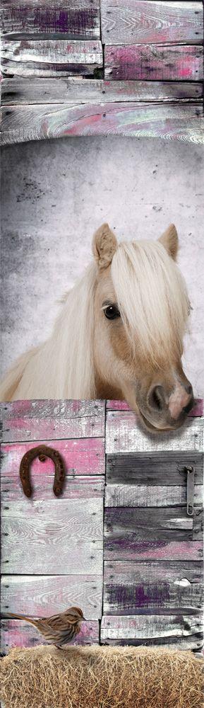 Paarden Sticker Muur.Muursticker Paneel Paard Muurstickers Kinderkamer Girls Bedroom