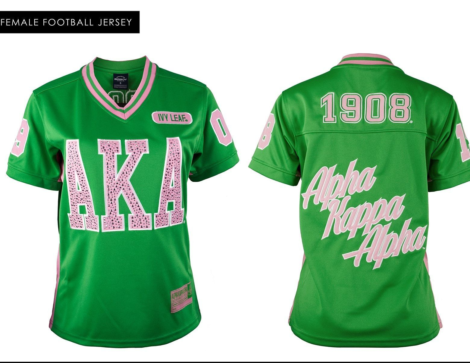 89408fbb6 Alpha Kappa Alpha Football Jersey in 2019 | Products | Alpha kappa ...