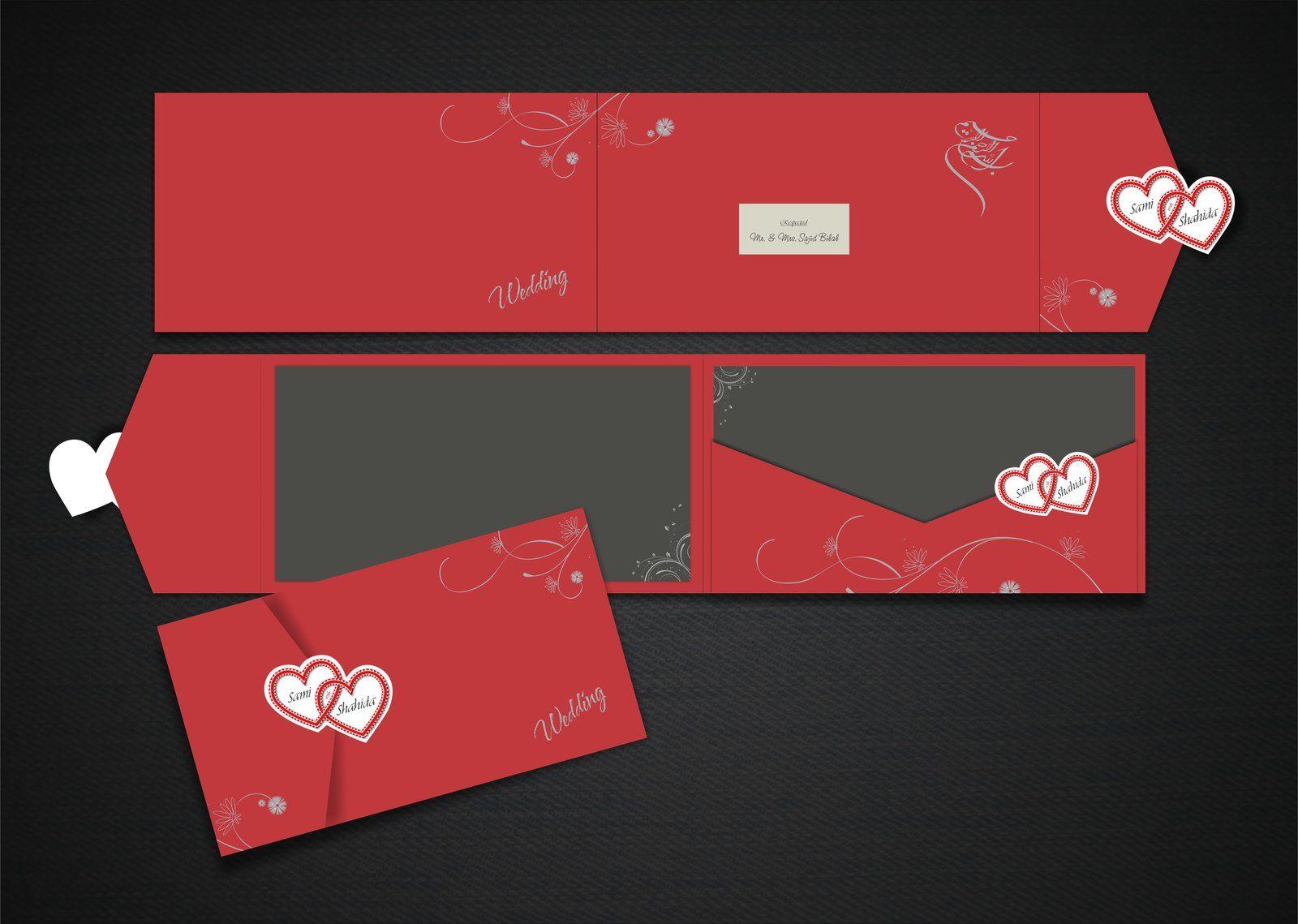 Wedding Card Design by sajidbilal.deviantart.com on @deviantART ...
