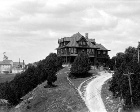 Young Cottage, later the Michigan Governor's Summer Residence, by William H. Gardiner.