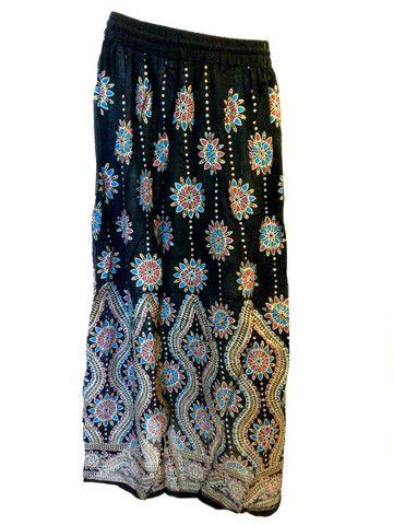 242a5301b18 Patterned hippie skirt  3 women s fashion via