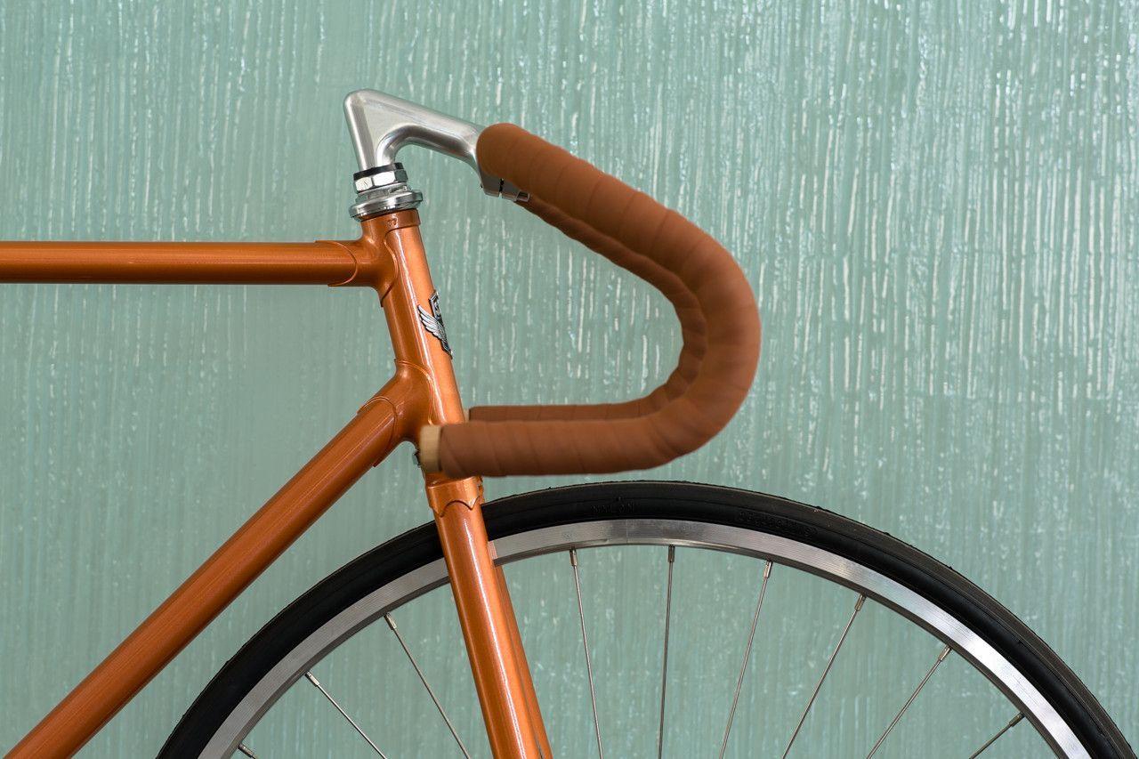 Copper Retro Reissue Bicycle Custom Fixed Gear Bike California