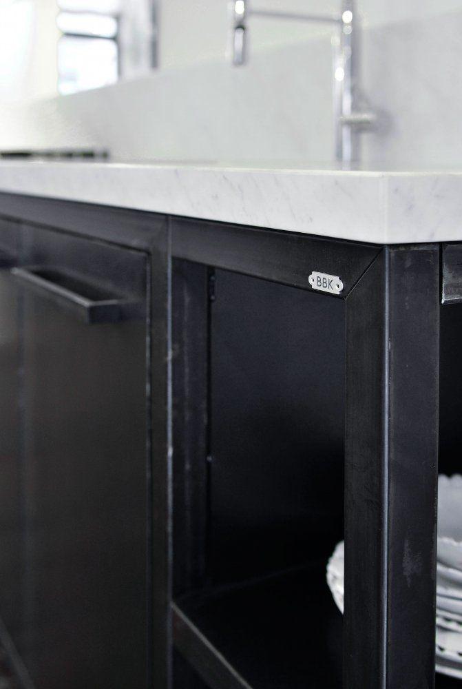 Cucina in Ferro - BBK   casa nel 2018   Pinterest   Cucine, Mobili ...