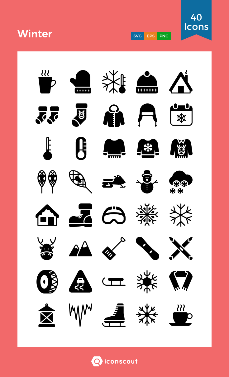 Download Winter Icon Pack Available In Svg Png Eps Ai Icon Fonts Icon Pack Icon Icon Font