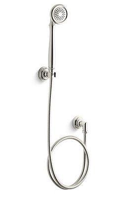Kallista Bellis Rain Low Flow Handheld Shower Head Finish Nickel