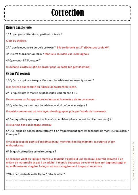 C Est Quoi Un Genre Littéraire : genre, littéraire, MOLIÈRE, Bourgeois, Gentilhomme, Gentilhomme,, Histoire, L'art